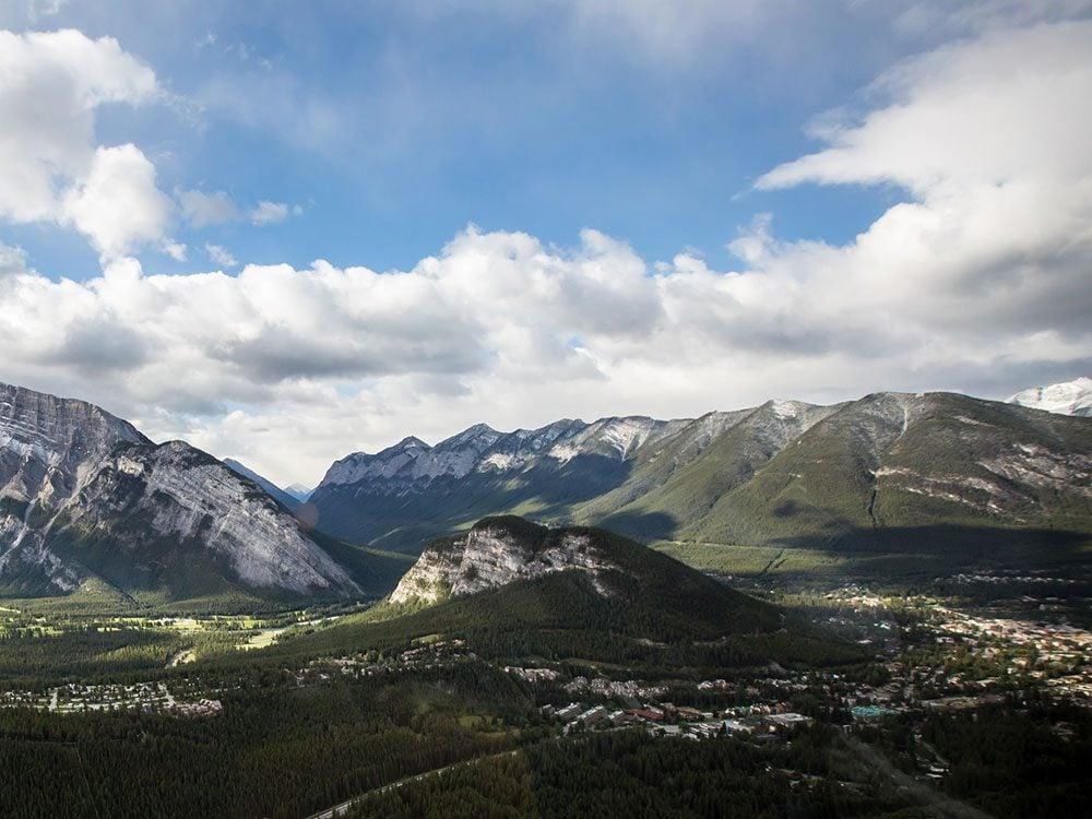 Tunnel Mountain in Banff