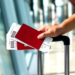 Never post a picture of your boarding pass on social media