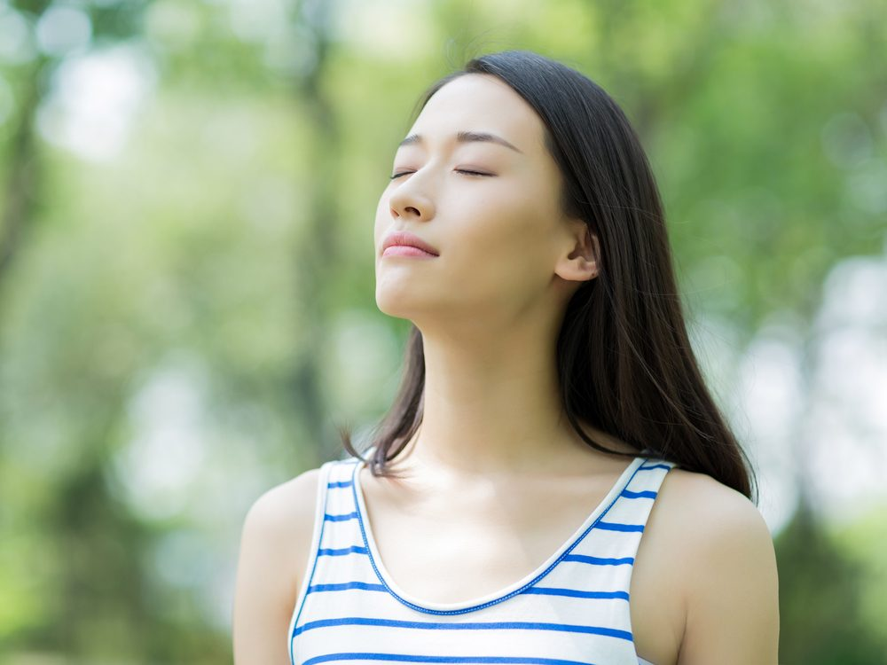 Visualize calm to help with stress