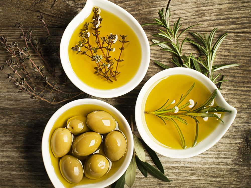 Extra virgin olive oil is a healthy choice