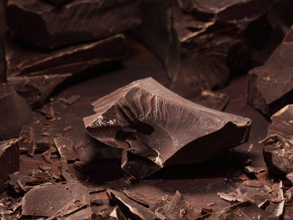 Dark chocolate is an energy boosting food that will wake you up