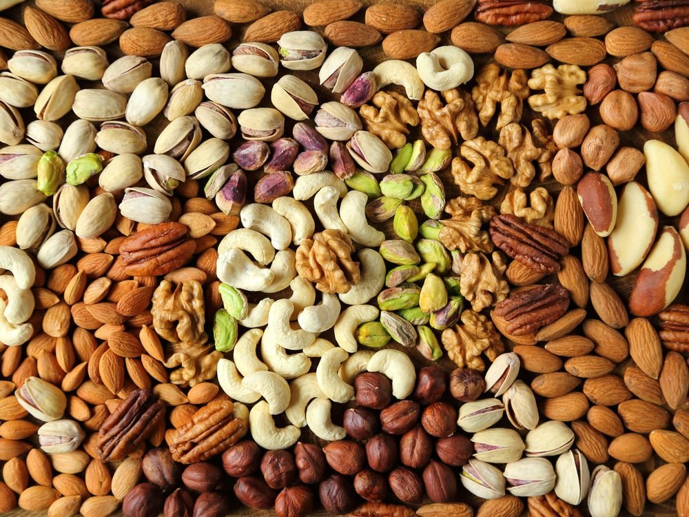 Nuts are an energy boosting food that will wake you up