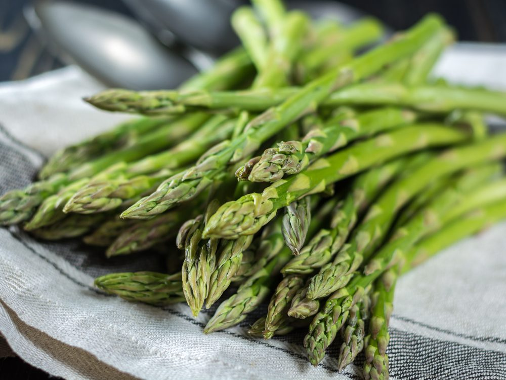 Asparagus is an energy boosting food that will wake you up