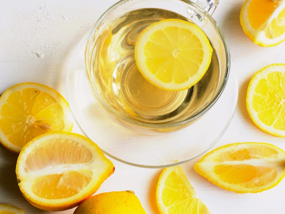 Lemon is an energy boosting food that will wake you up