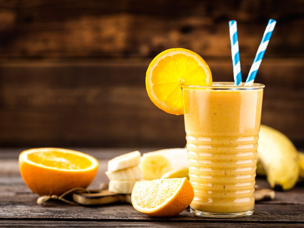 Orange and Banana Breakfast Smoothie recipe