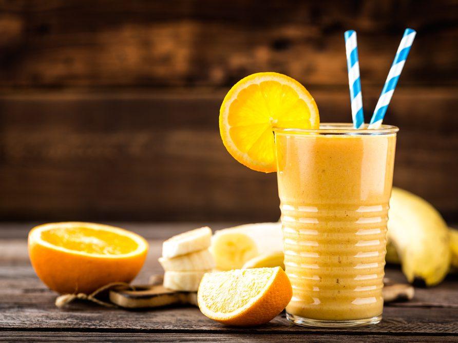 Orange and Banana Breakfast Smoothie recipe