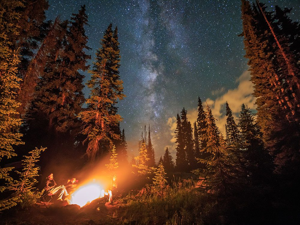 Stargazing at Banff National Park
