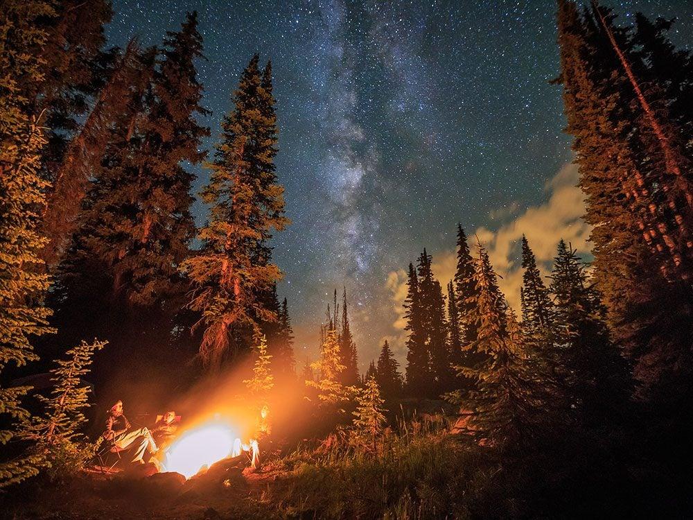 Stargazing at Banff National Park