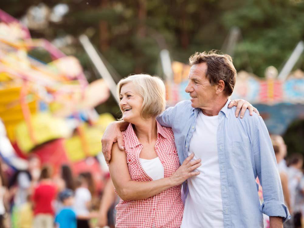 Visit a local festival or fair