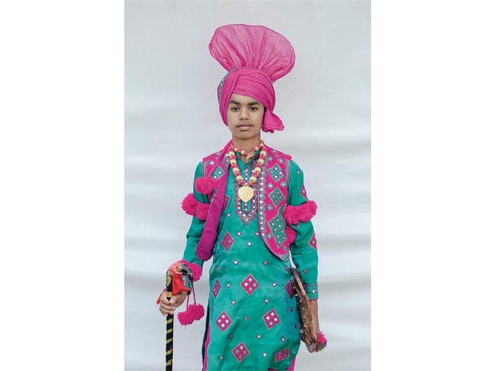 South-Asian Canadian boy
