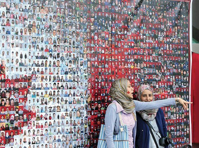 Two Muslim Canadian women