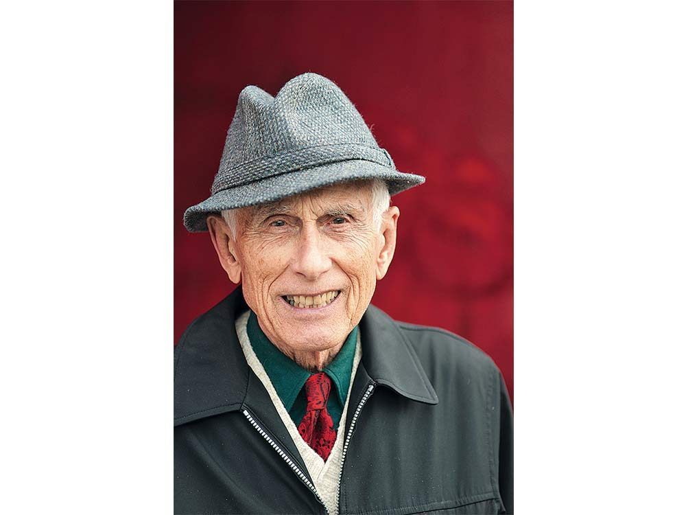Elderly Canadian man