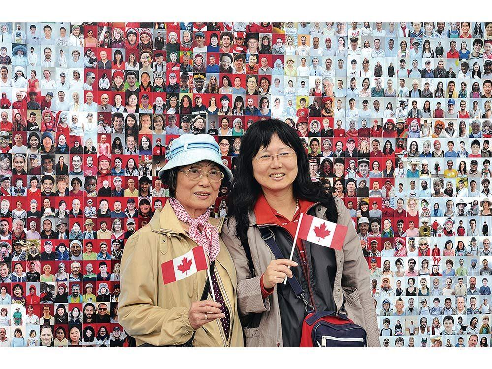Two Asian Canadian women