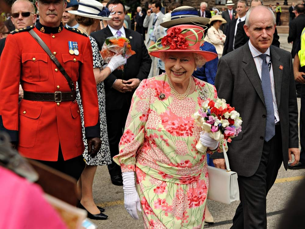 Queen Elizabeth in Canada
