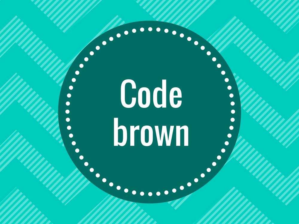 Find out what doctors mean when they say code brown