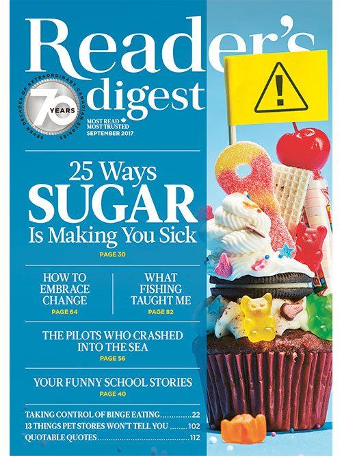 Reader's Digest Canada: September 2017 issue