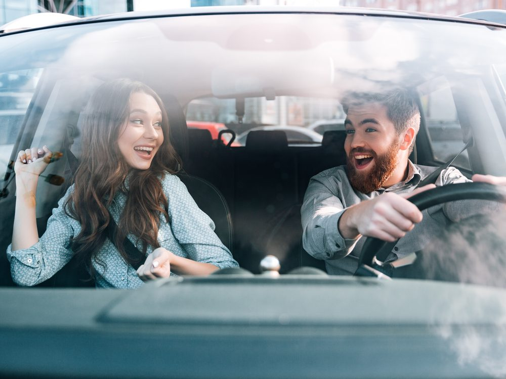 Successful people use their commute to spend time with their partner