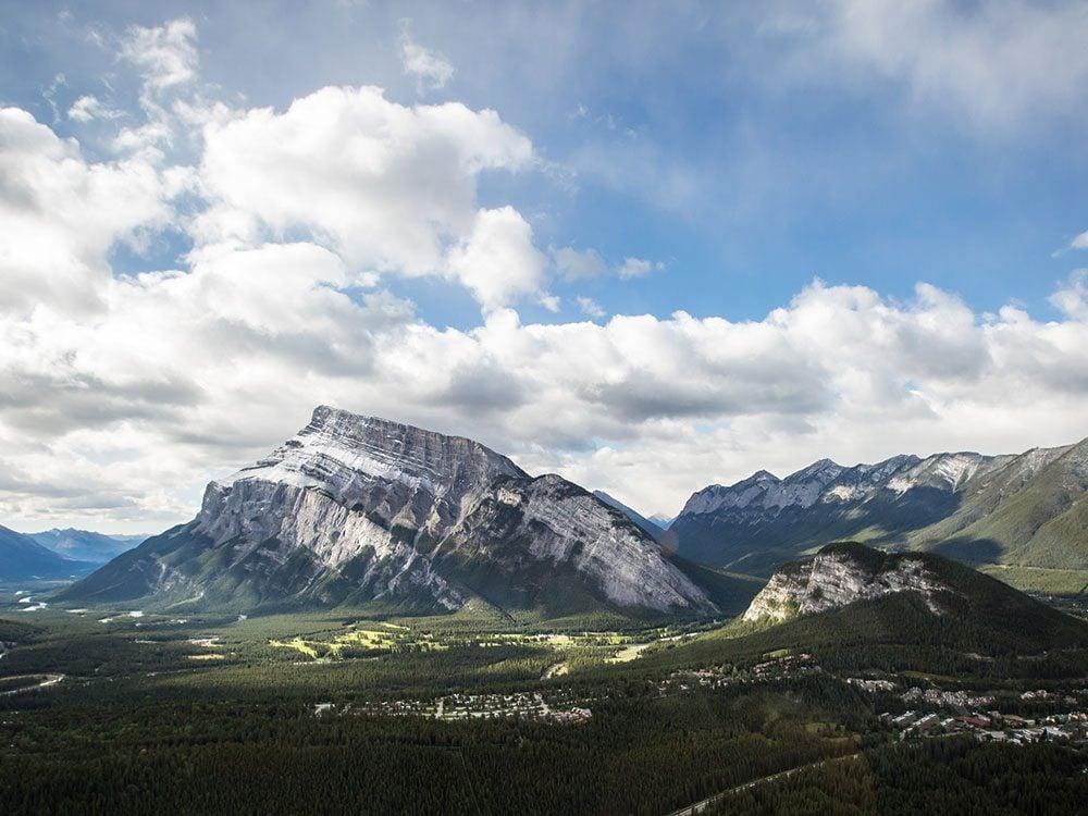 Banff's Mount Rundle