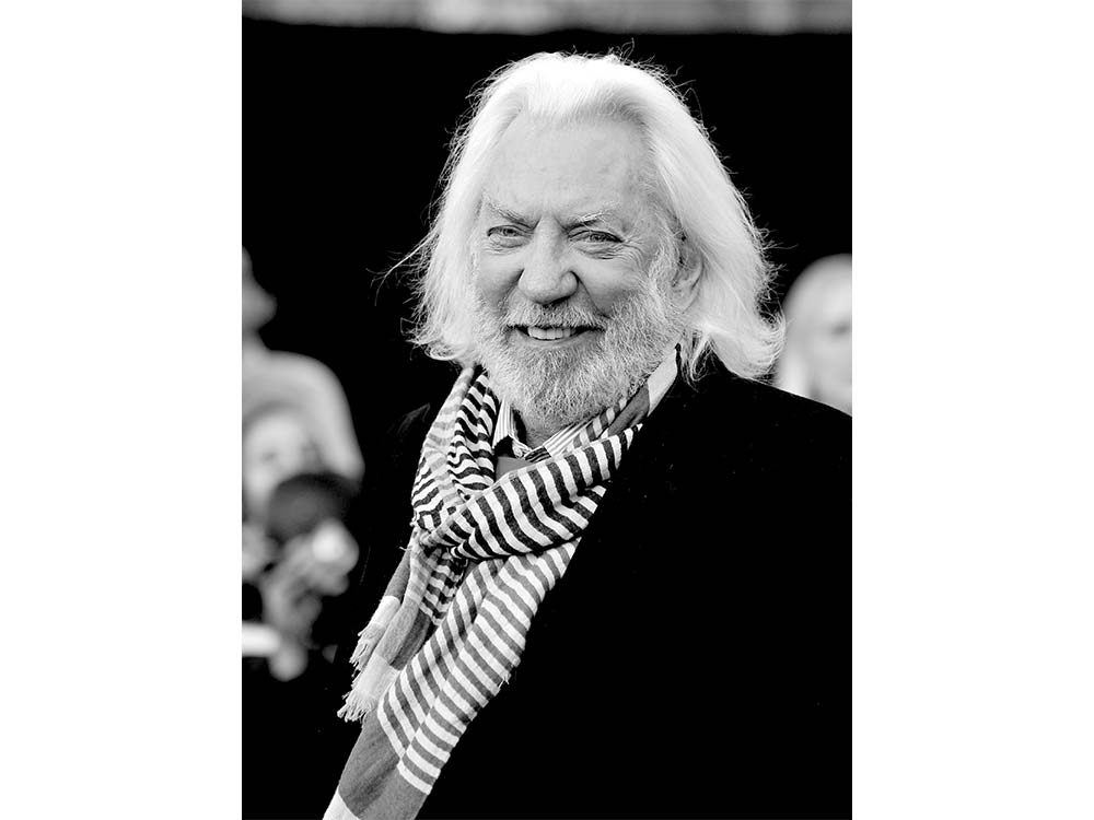Donald Sutherland on being Canadian