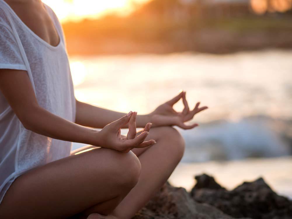 Yoga makes you deep
