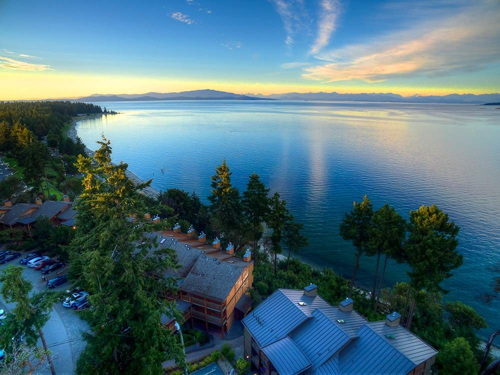 Parksville, B.C. is one of the most beautiful Canadian destinations