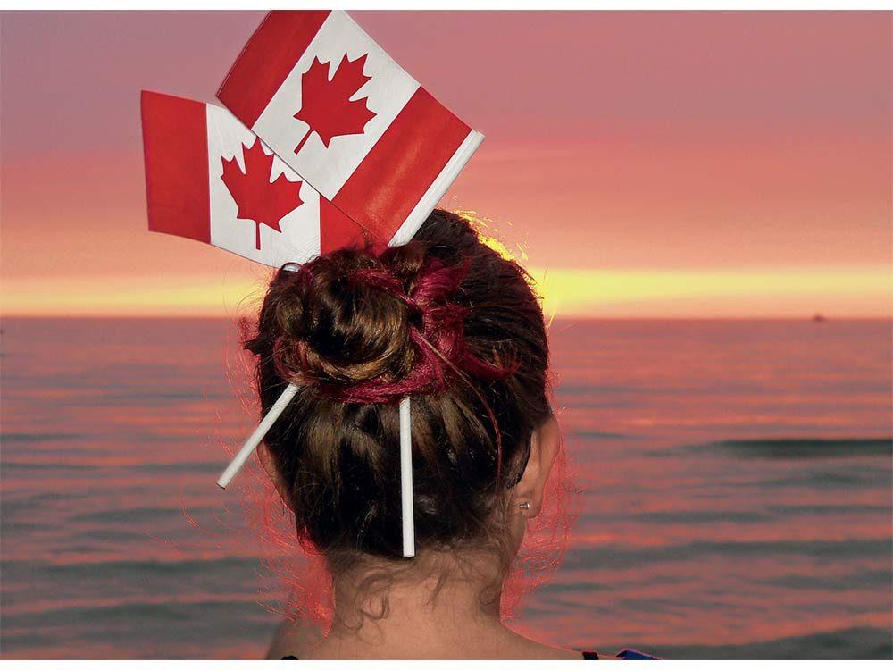 Sunset on Sauble Beach, Ontario