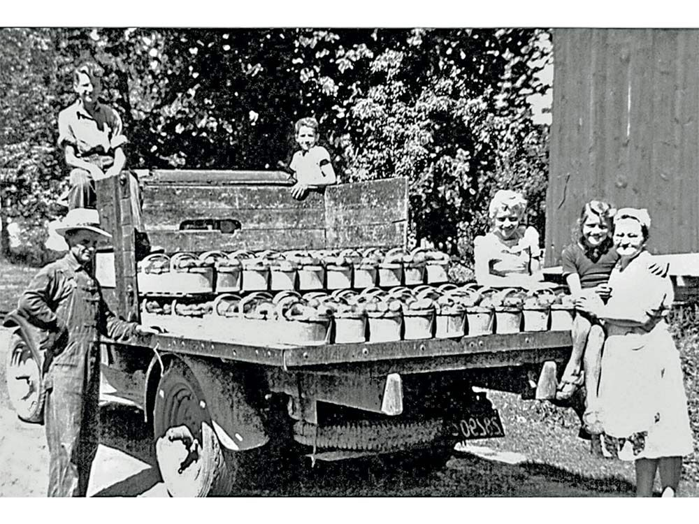 Dietrich and his family in Ukraine