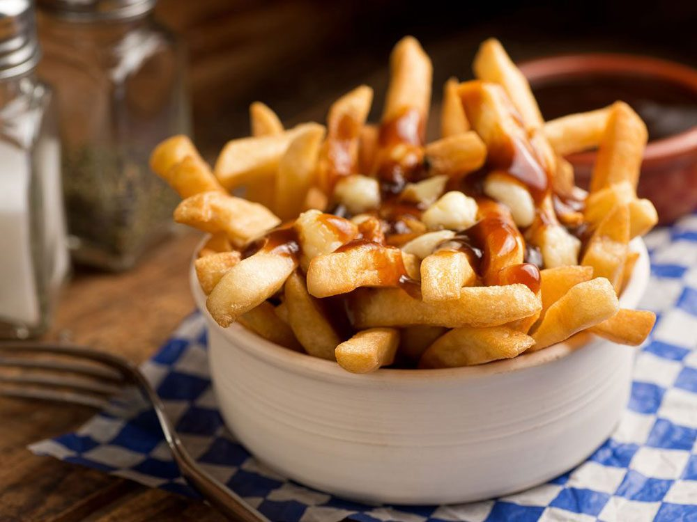Canadian insults: Criticizing poutine