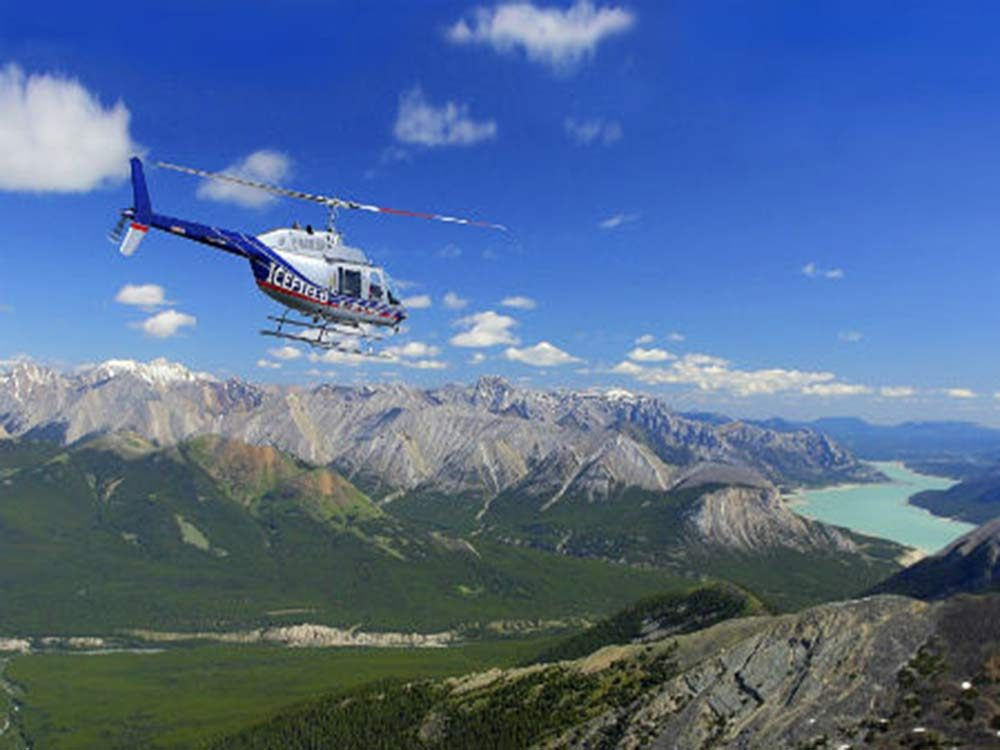 Canadian rockies helicopter tour