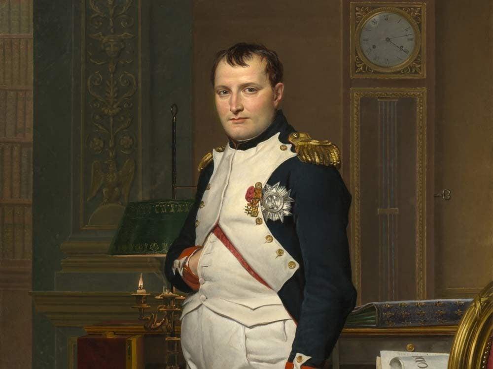 Painting of Napoleon Bonaparte
