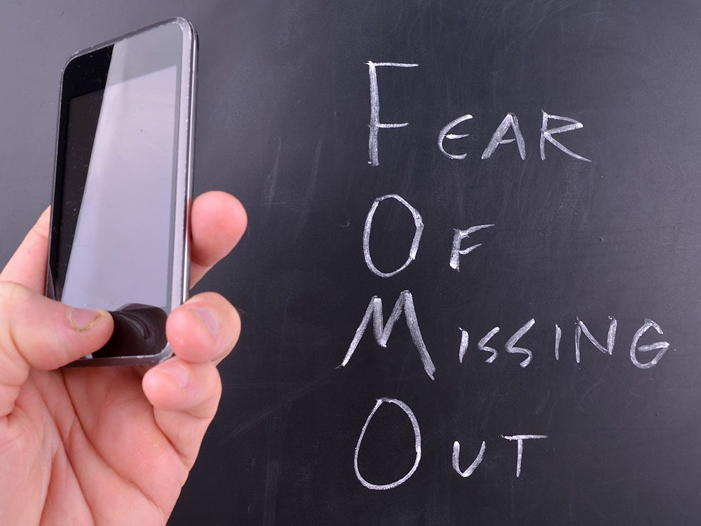 Do you suffer from FOMO?