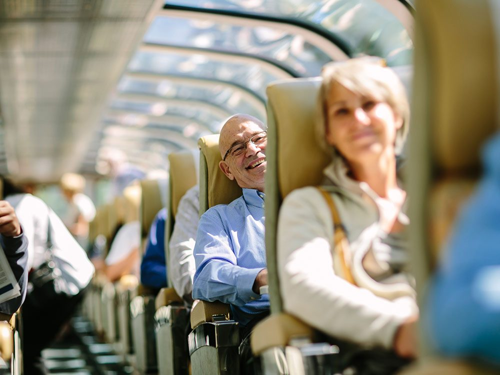 GoldLeaf service on Rocky Mountaineer