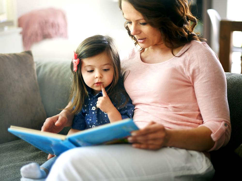 Improve your vocabulary by reading to your kids
