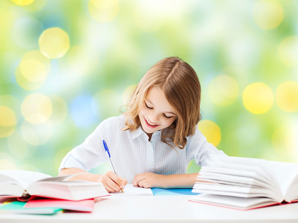 Kids who exercise score higher on tests