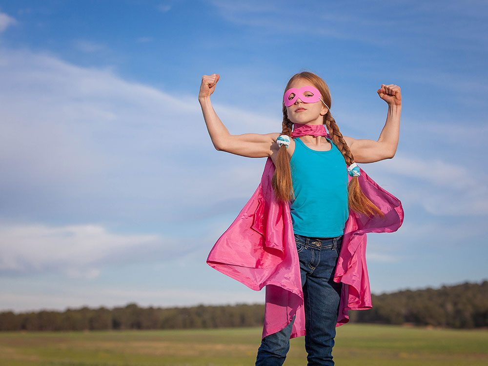 Physically active kids are more confident