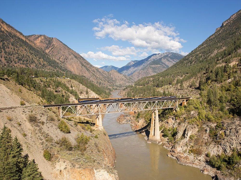 Rocky Mountaineer Fraser Bridge