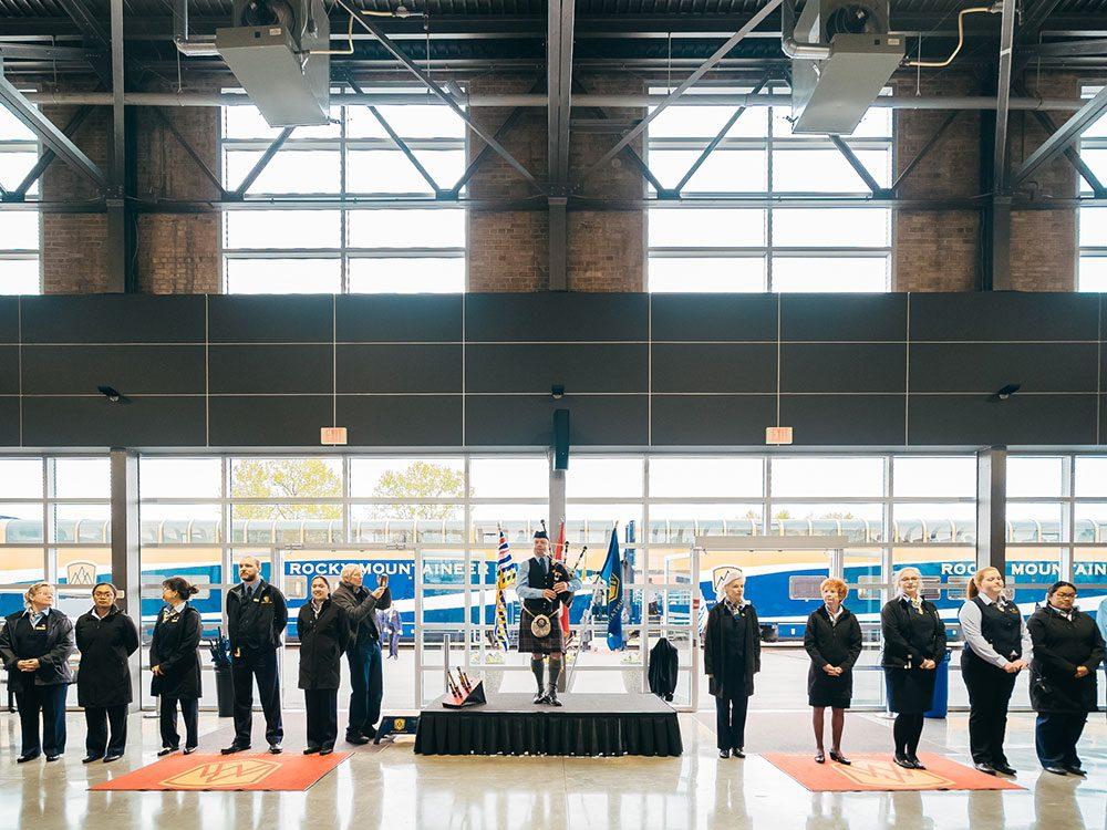 Rocky Mountaineer: Vancouver departure