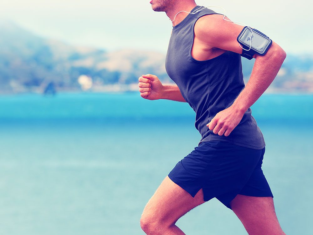 Running to music on your smartphone