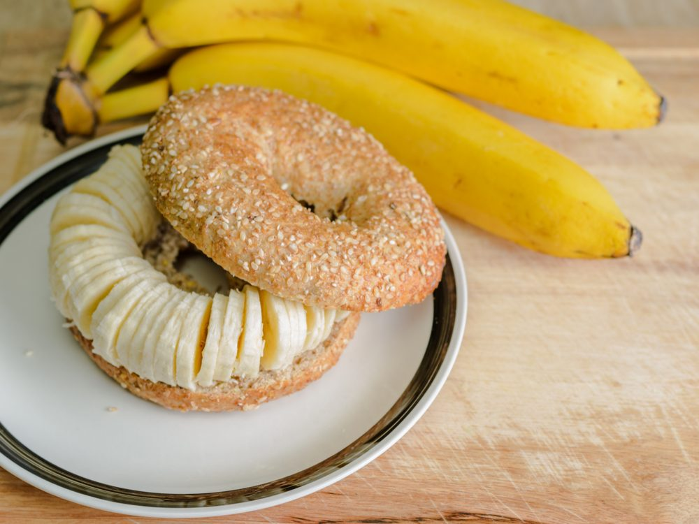 Healthy toppers for whole-wheat bagels or toast