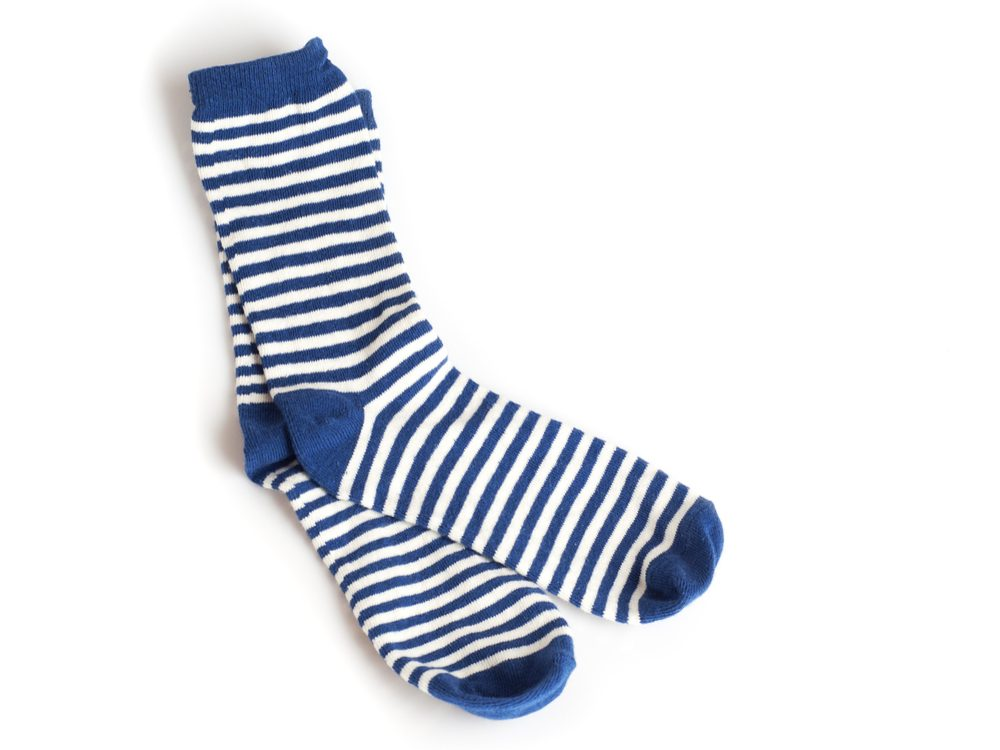 Wash your feet and change your socks before visiting the podiatrist