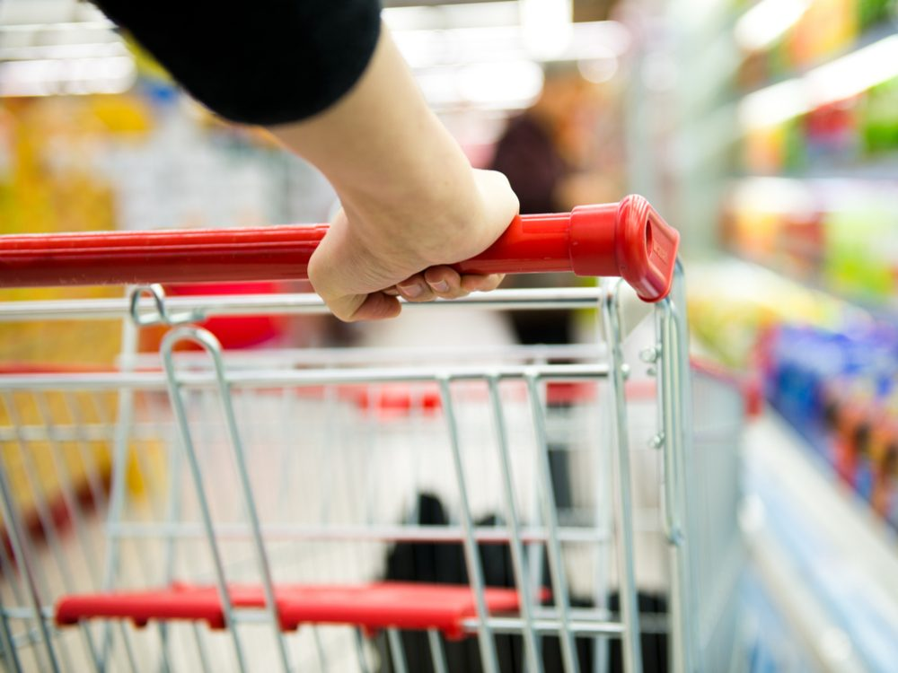 Changing your grocery shopping habits is a proven weight loss tip from The Biggest Loser