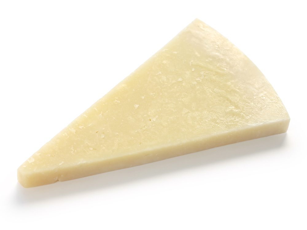 Romano cheese is a calcium-rich food that will help your burn fat