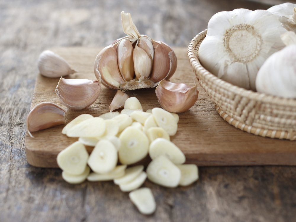 Garlic can help beat a cold