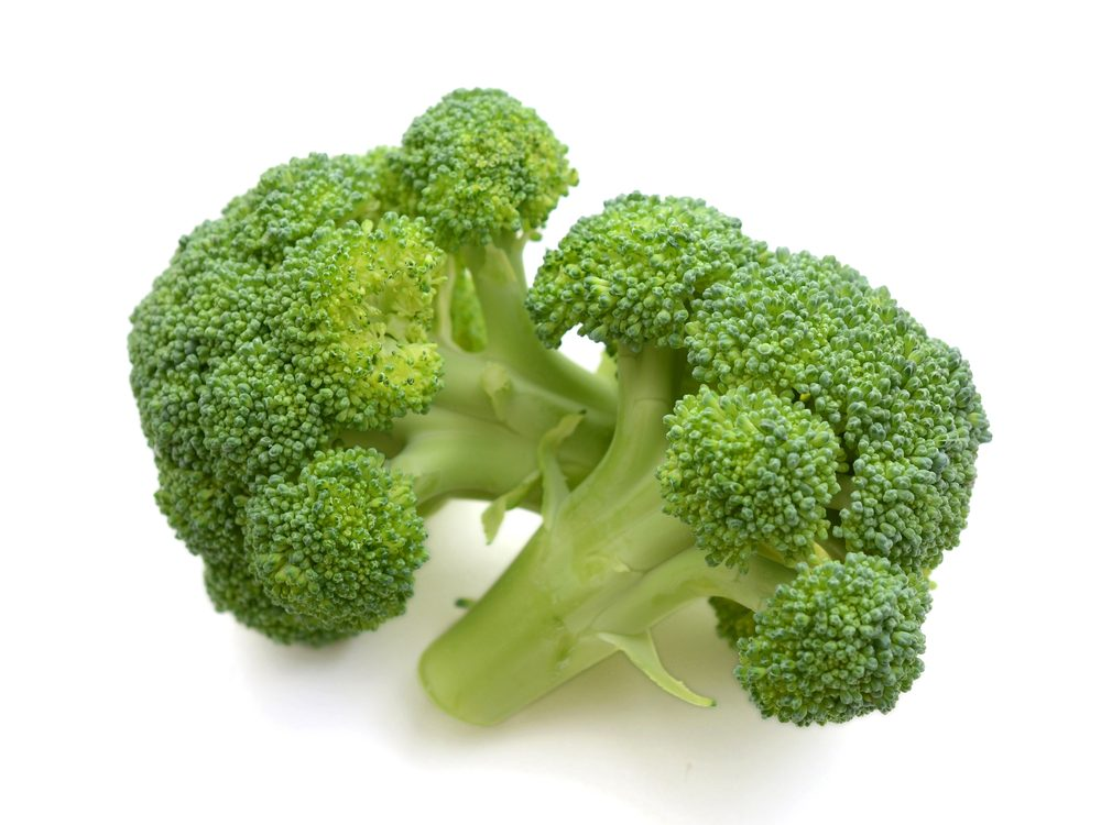 Brocolli is a calcium-rich food that will help your burn fat