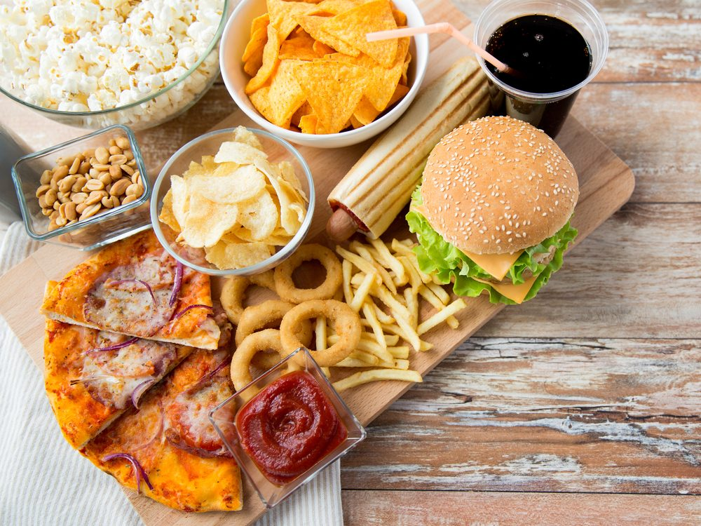 A high-fat meal can spike blood sugar levels