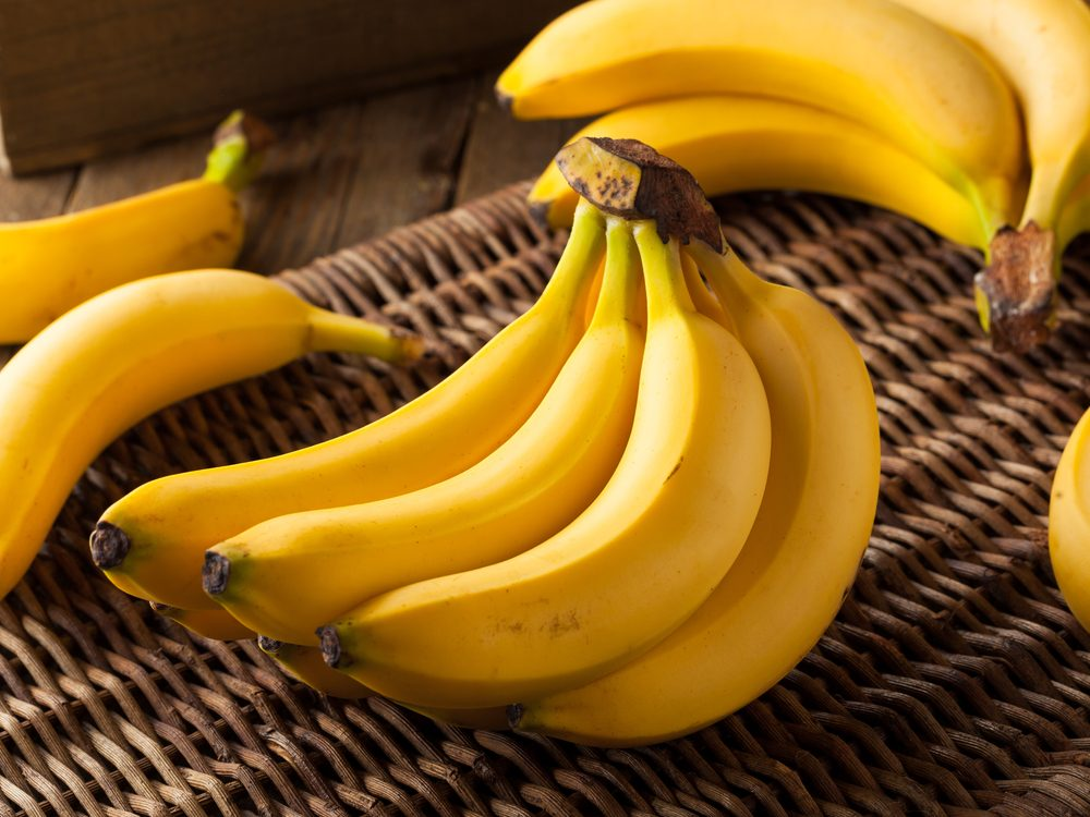 Crush cold cereal in a bag and add a peeled banana