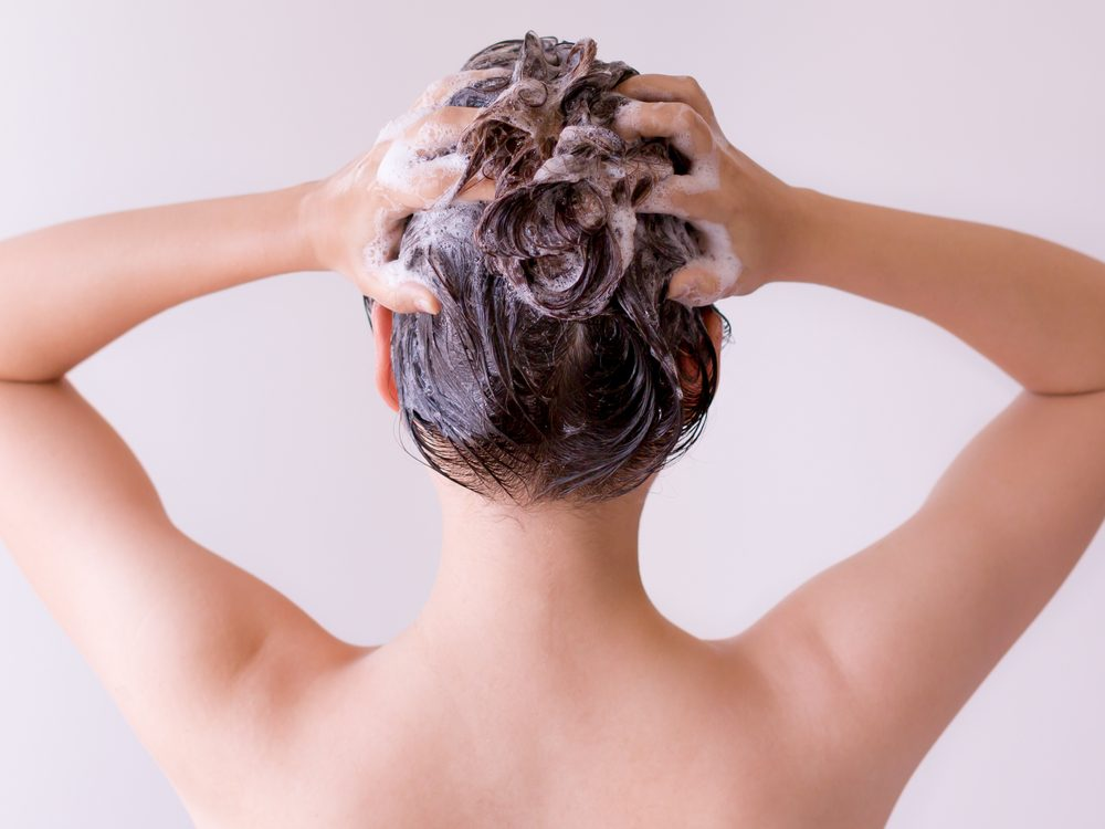 You're showering wrong if you scrub your scalp with your fingernails