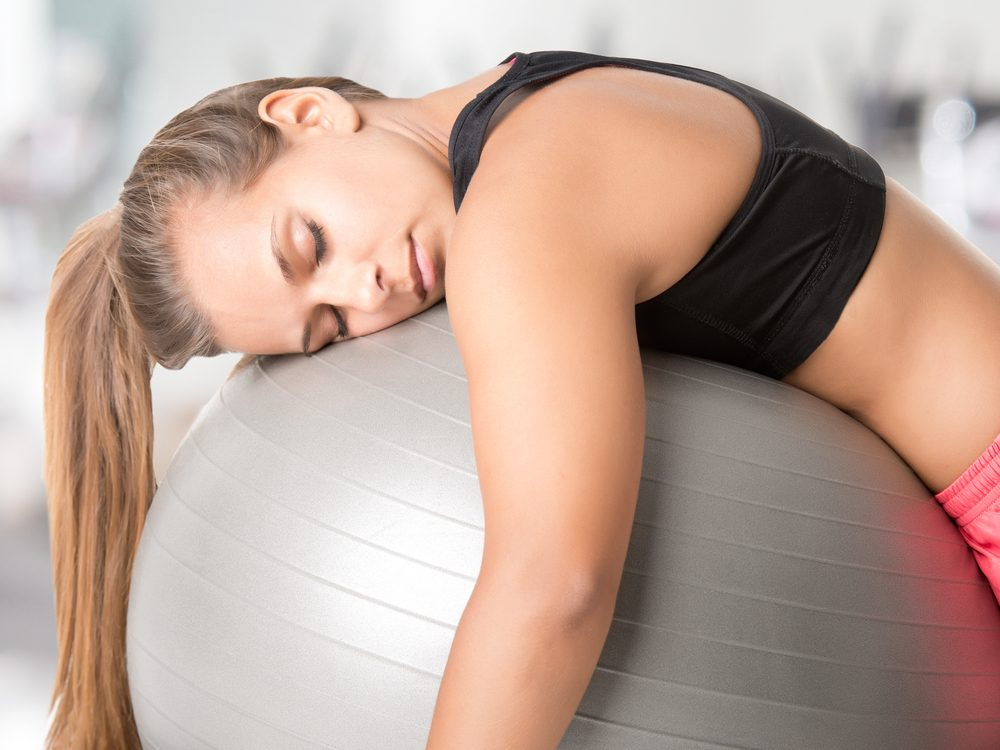 Don't hit the gym full force when you are tired