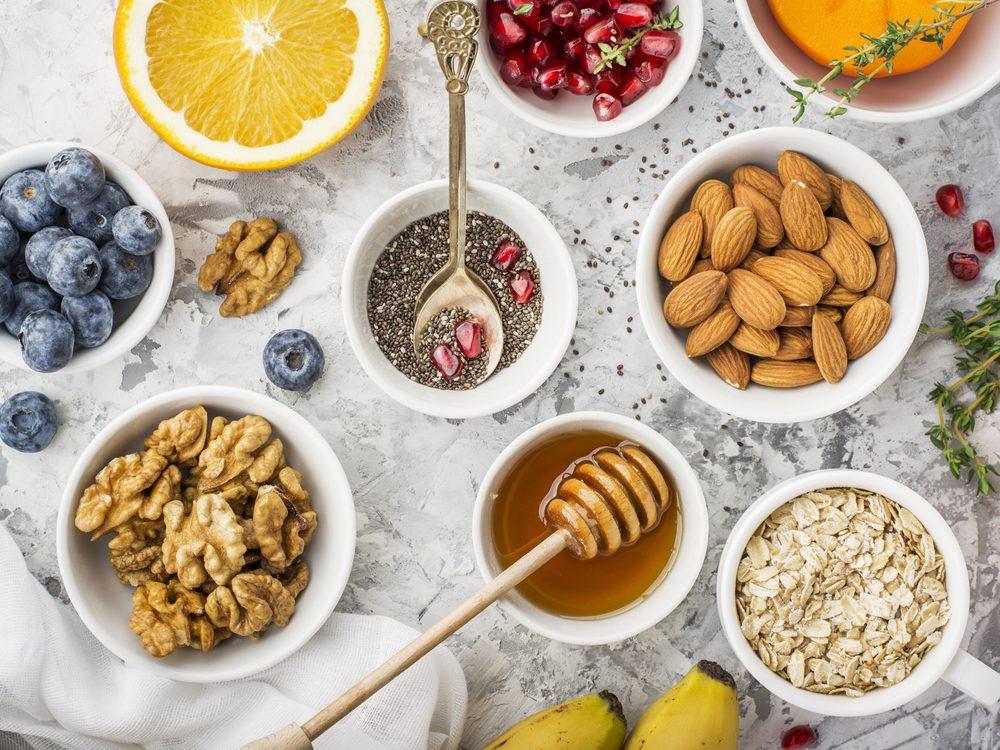 Build your own healthy breakfast