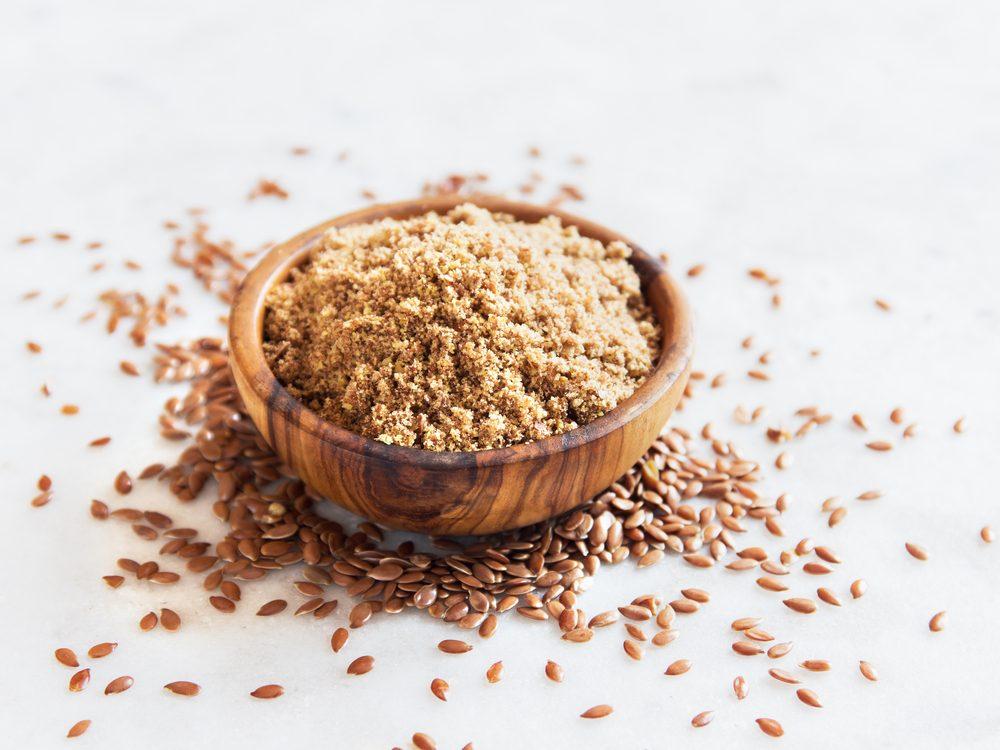 Sprinkle on a teaspoon of ground flaxseeds